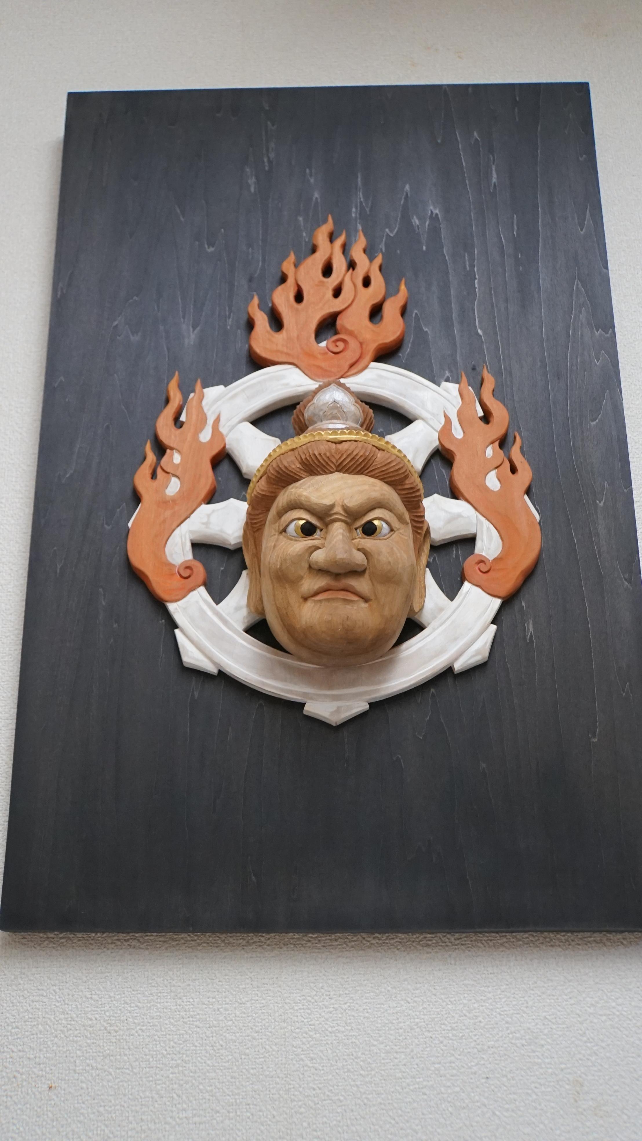 毘沙門天(面)