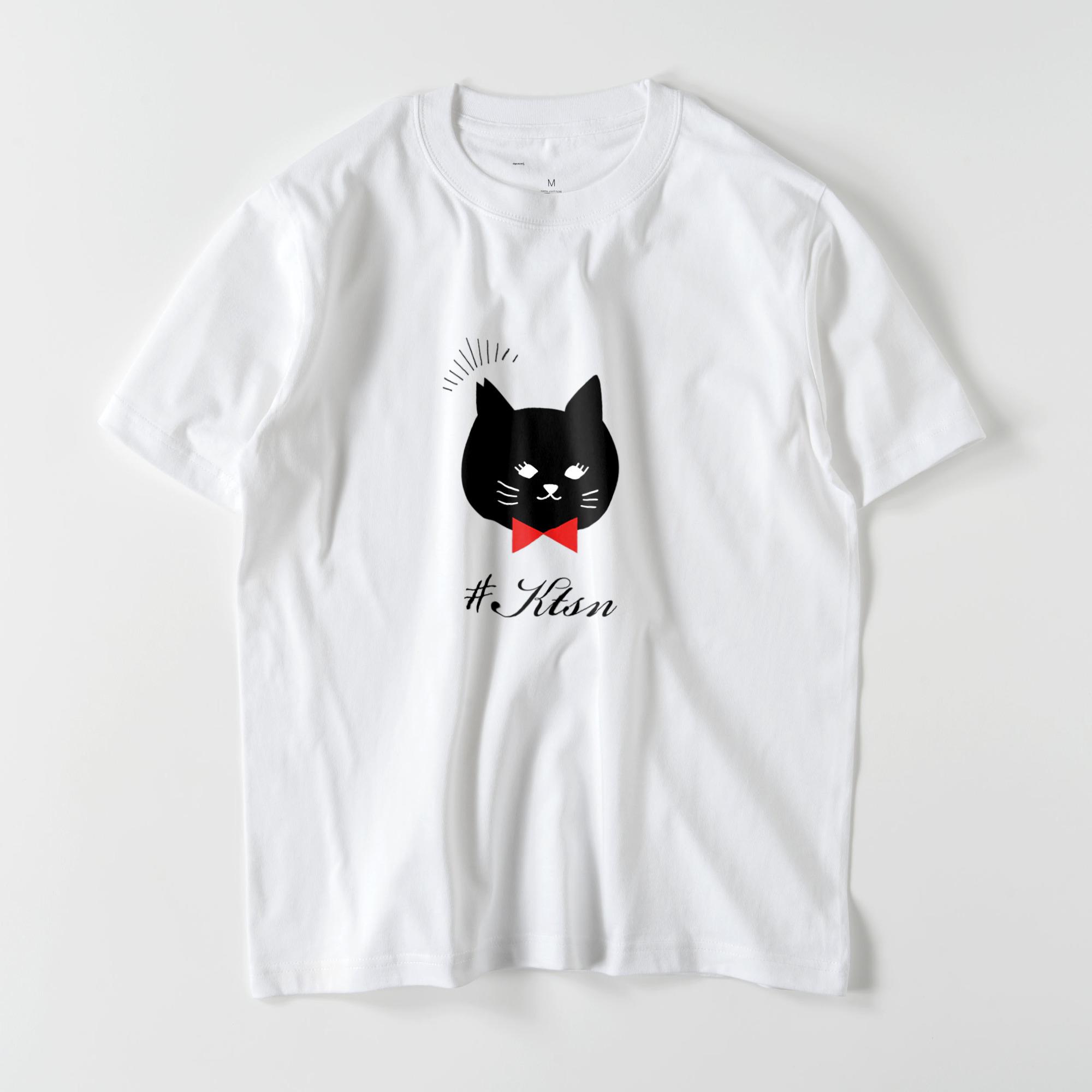 #KTSN×kaco 黒猫Tシャツ