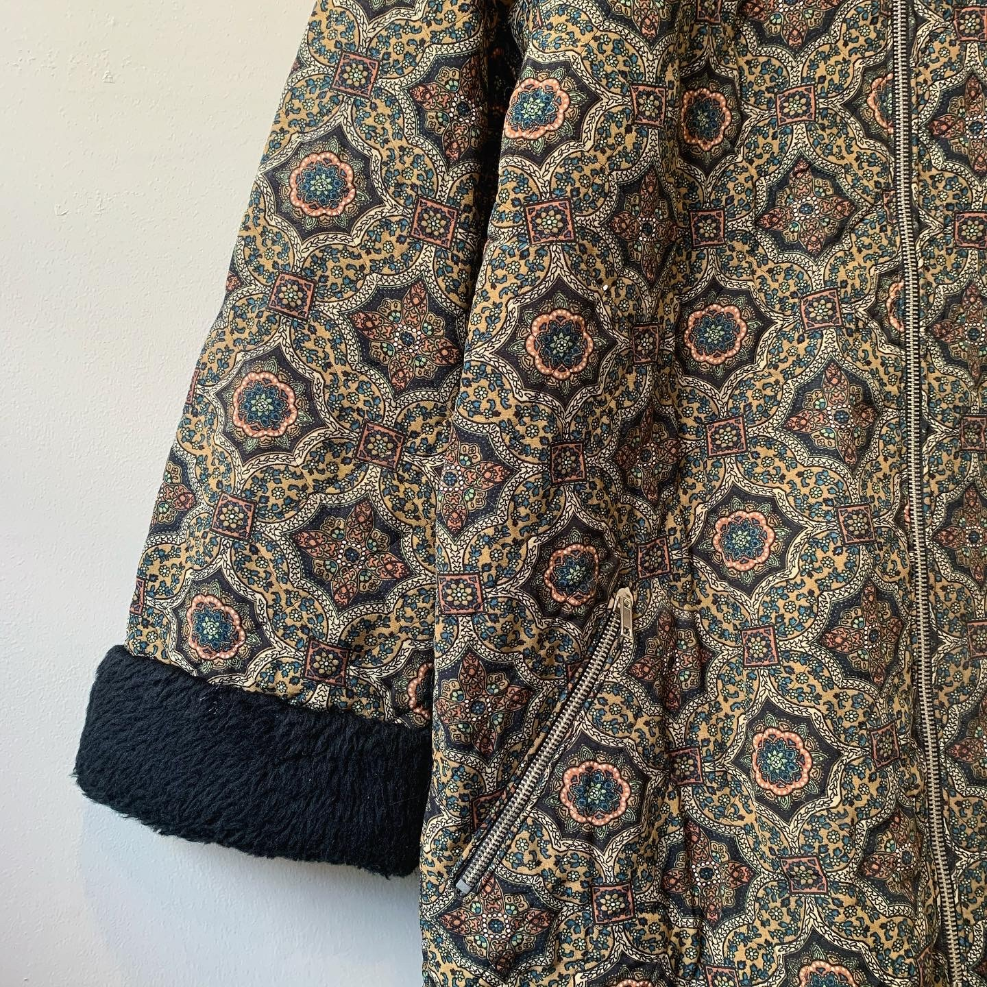 vintage quilting design outer