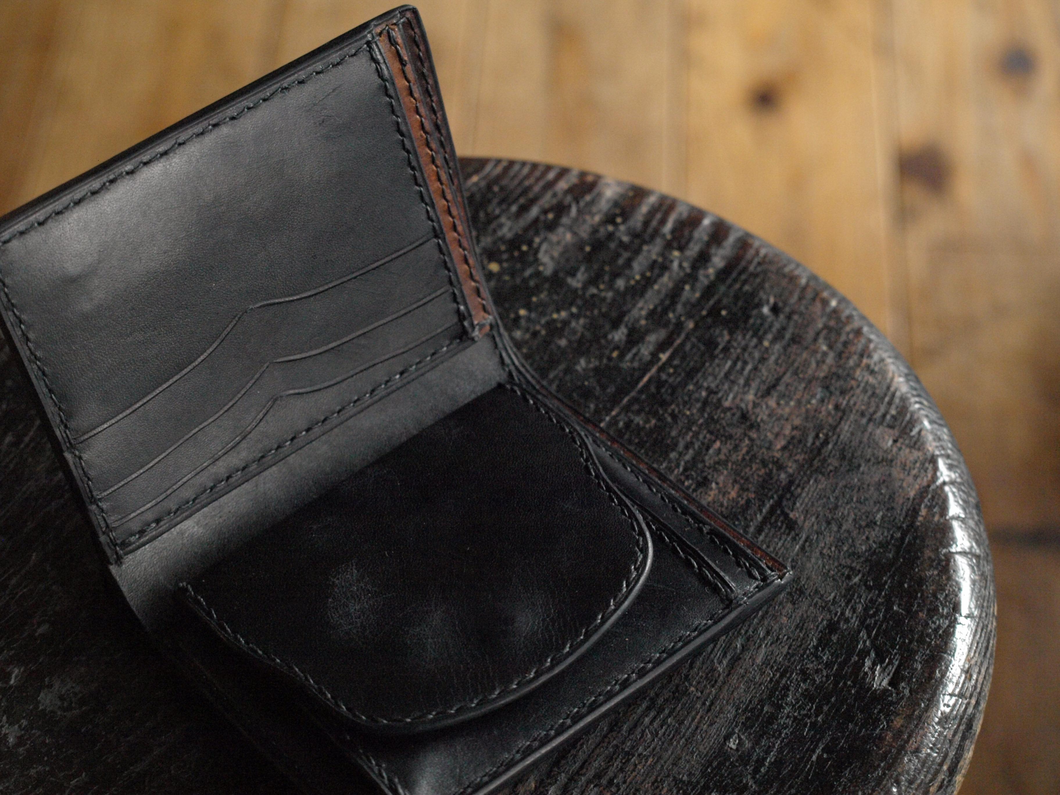二つ折り財布(マダラ)