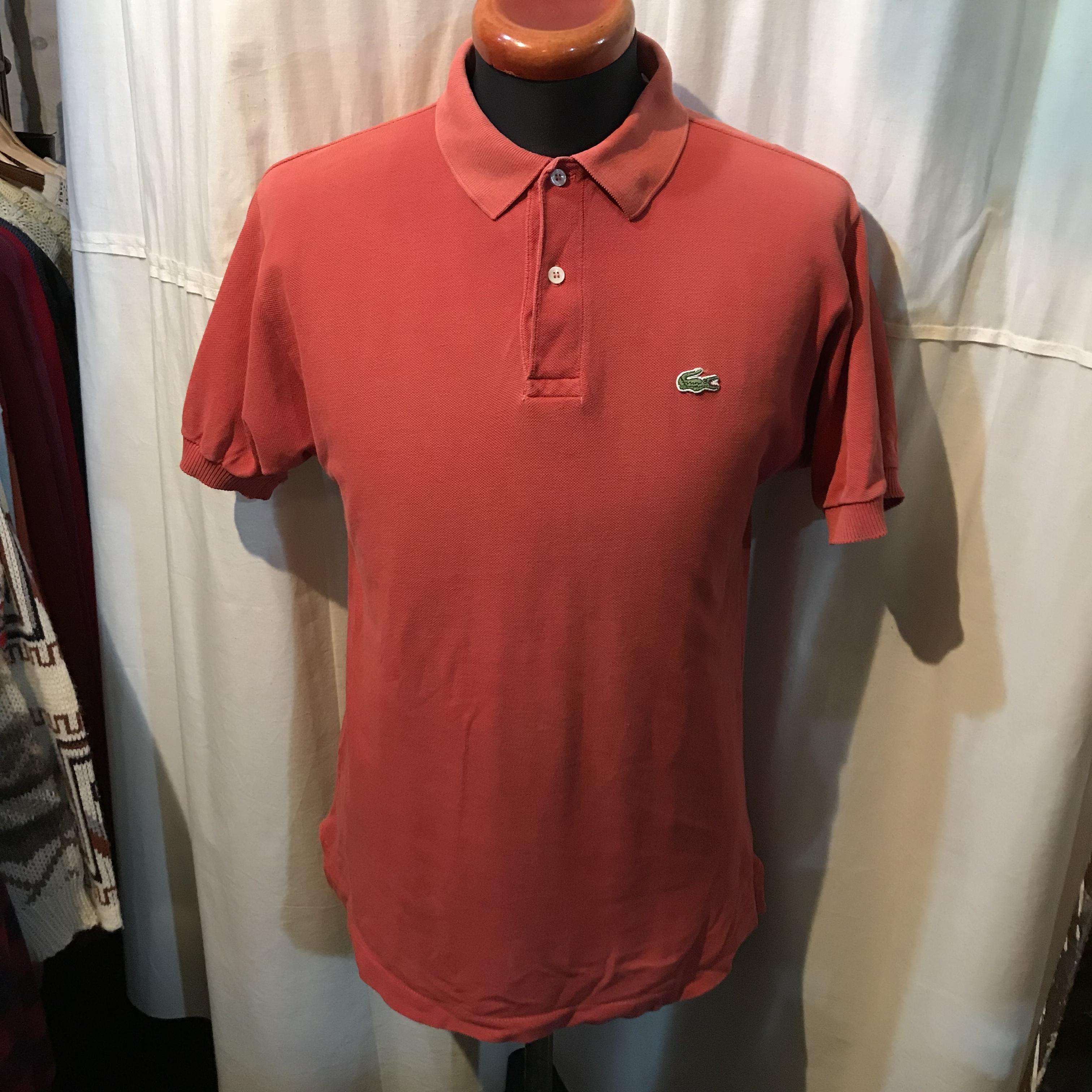 アメリカ製 IZOD LACOSTE ラコステ ポロシャツ USA コットン100% メンズL