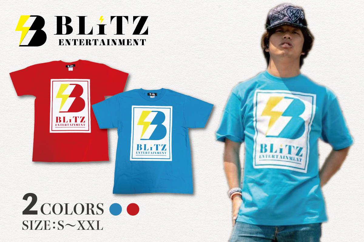 メインロゴ Tシャツ(レッド、ブルー)