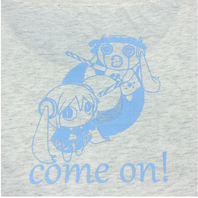 「ピノキオピー2015年祭りだヘイカモン」Tシャツ(レディース/オートミール) - 画像3