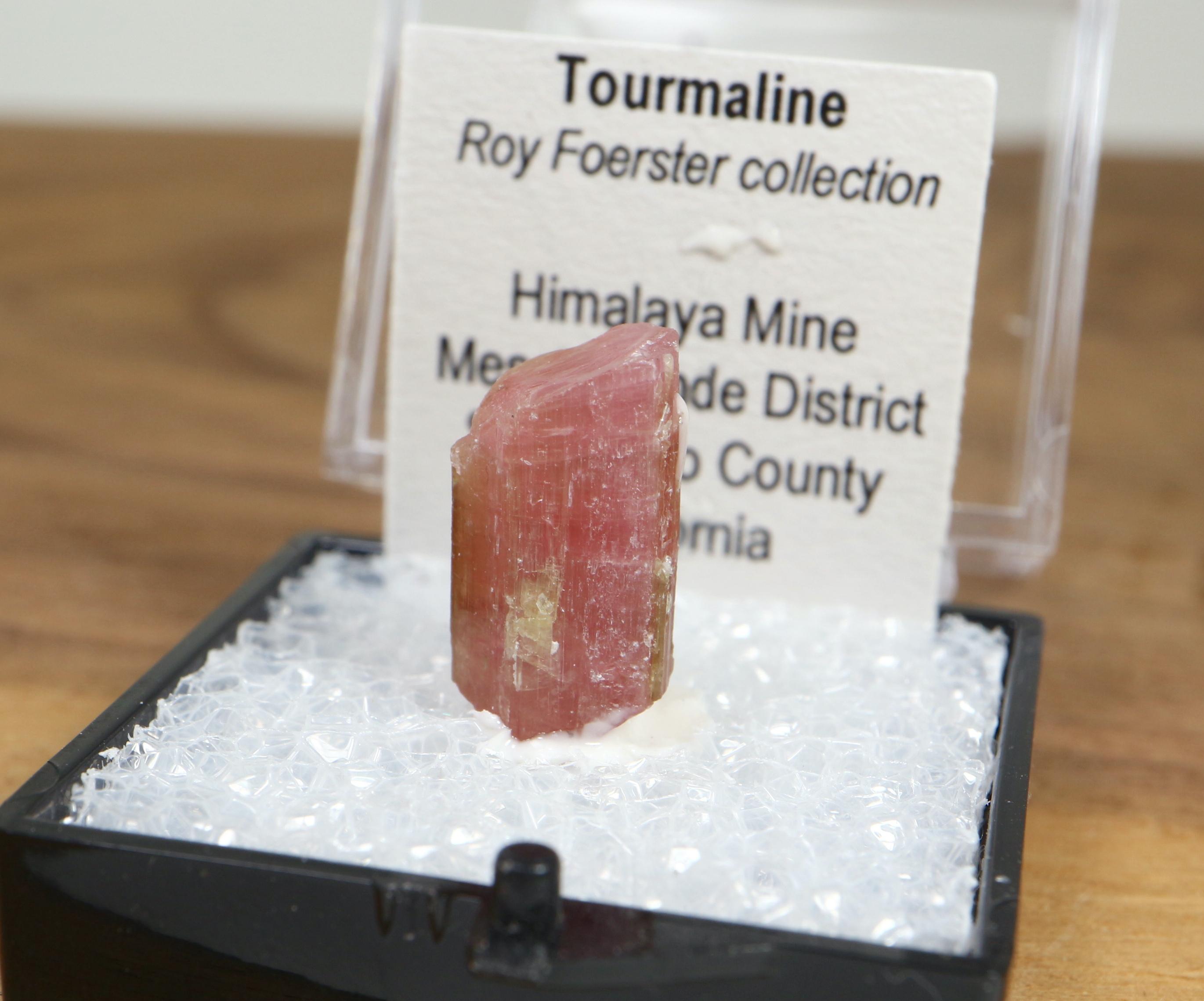ピンクトルマリン カリフォルニア産 ケース入り T129 鉱物 天然石 原石 パワーストーン