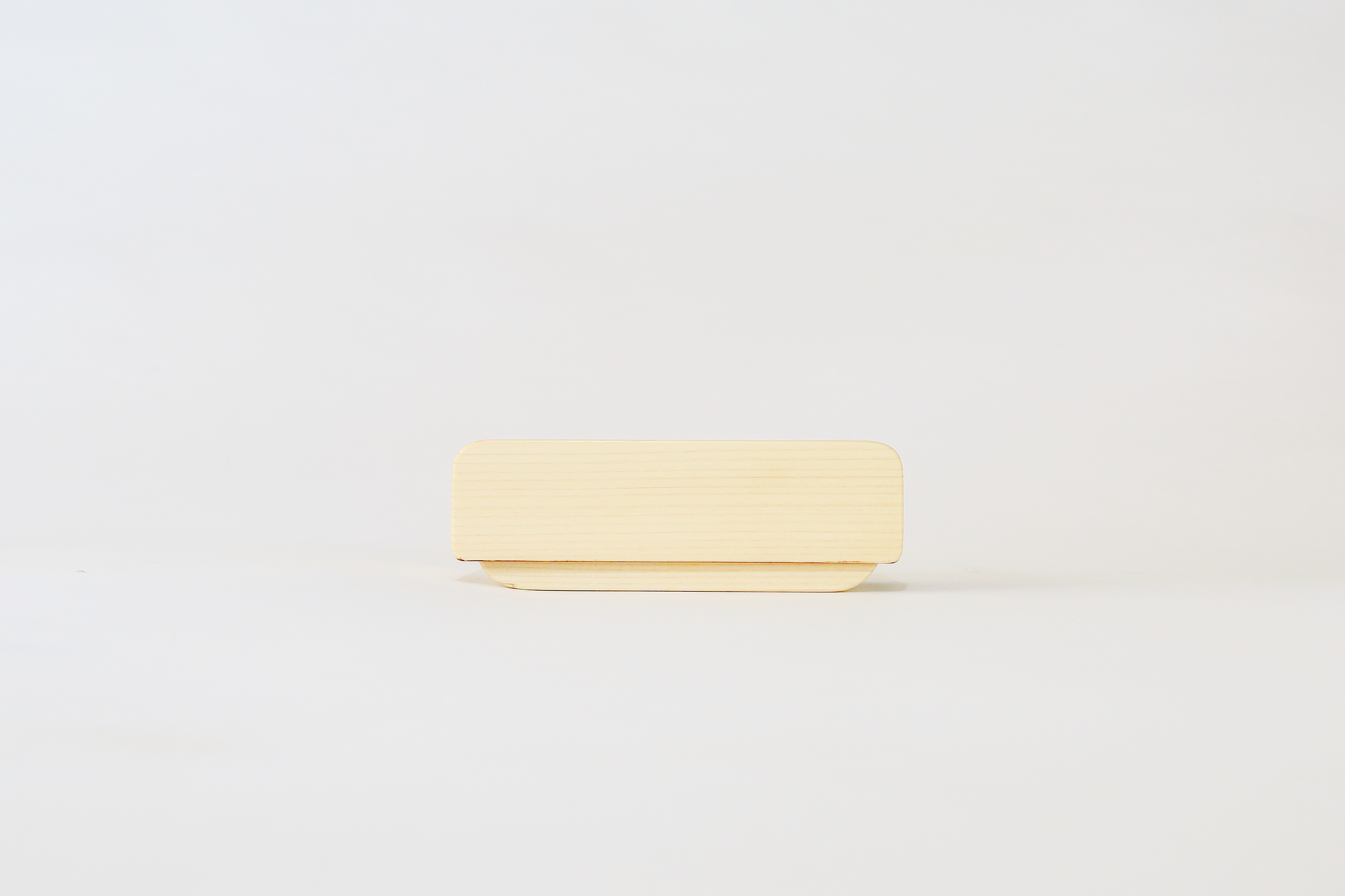 かぶせ弁当箱 ひのき白木仕上げ(小)