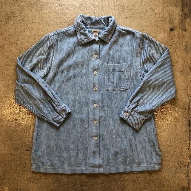 LLbean Corduroy Shirt #07