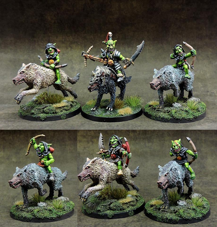 ゴブリンのオオカミ乗り 弓斥候部隊 - 画像2