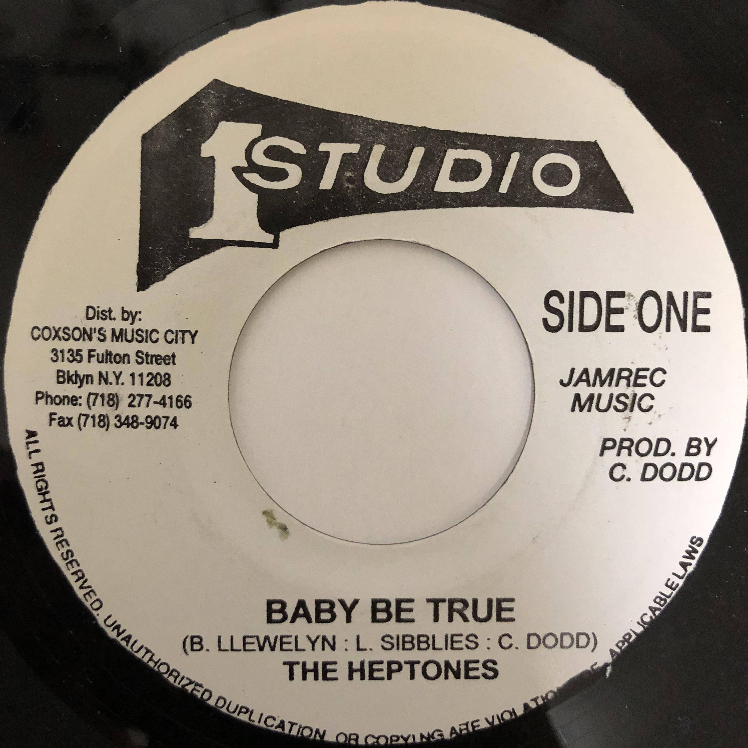 The Heptones - Baby Be True【7-20426】
