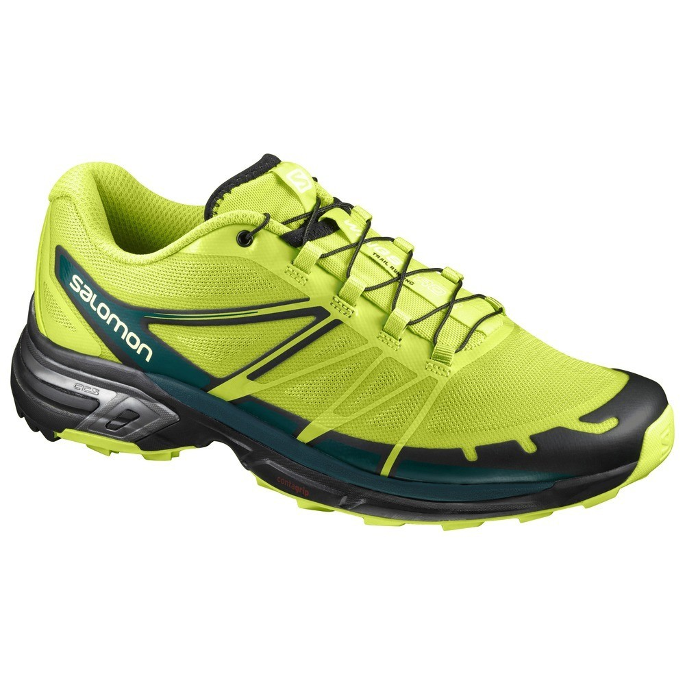 20%OFF【セール】SALOMON(サロモン)WINGS PRO 2 LIME PUNCH /BLACK/DEEP TEAL(L39243800)