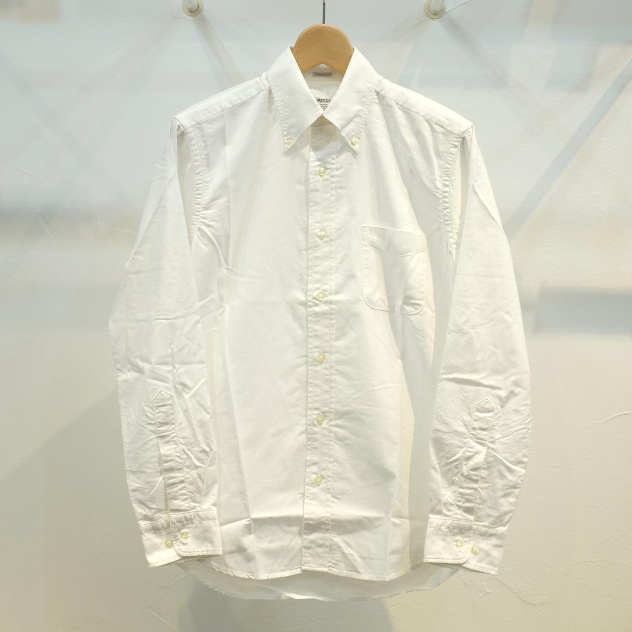 Workers(ワーカーズ) BB-OX ボタンダウンシャツ ホワイト