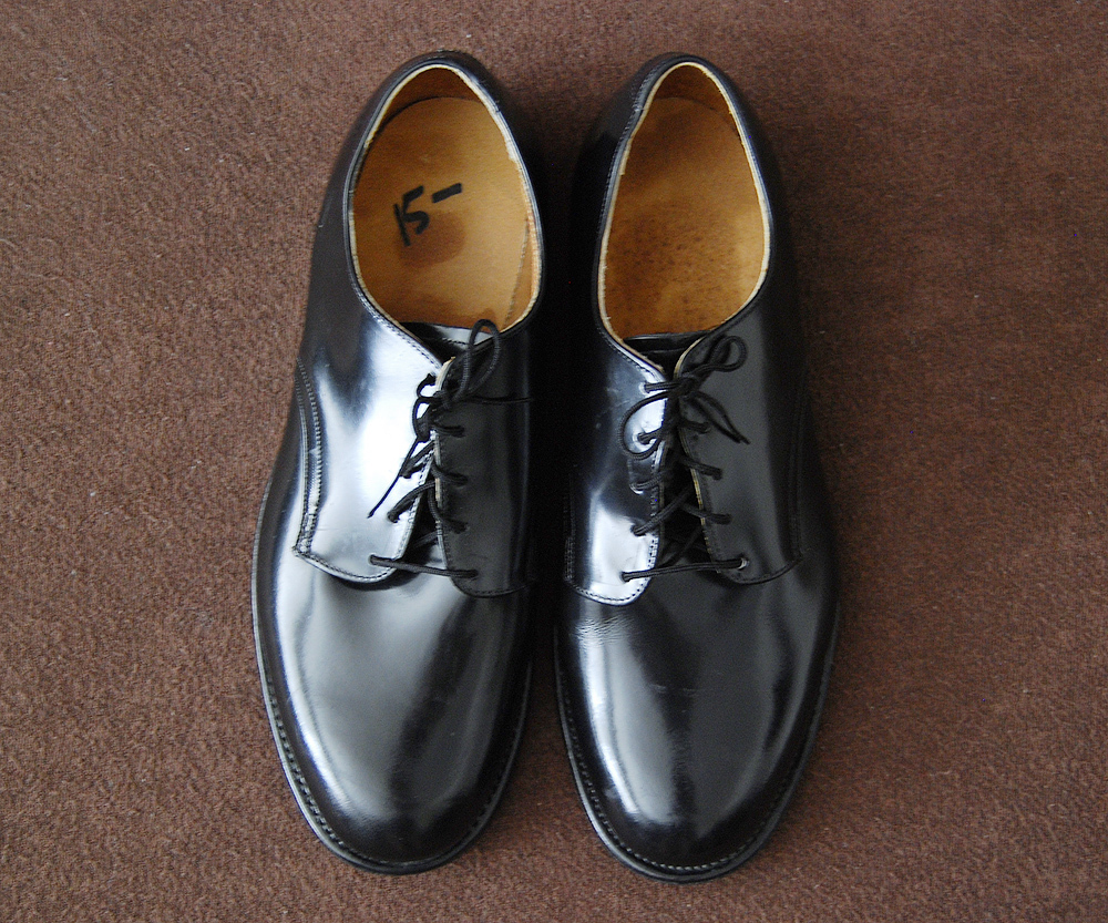 80s Deadstock U.S.NAVY SERVICE SHOES CRADDOCK-TERRY 8.5W