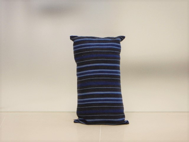 品番UC-011 Cushion [small / African Indigo Batik Tribal]