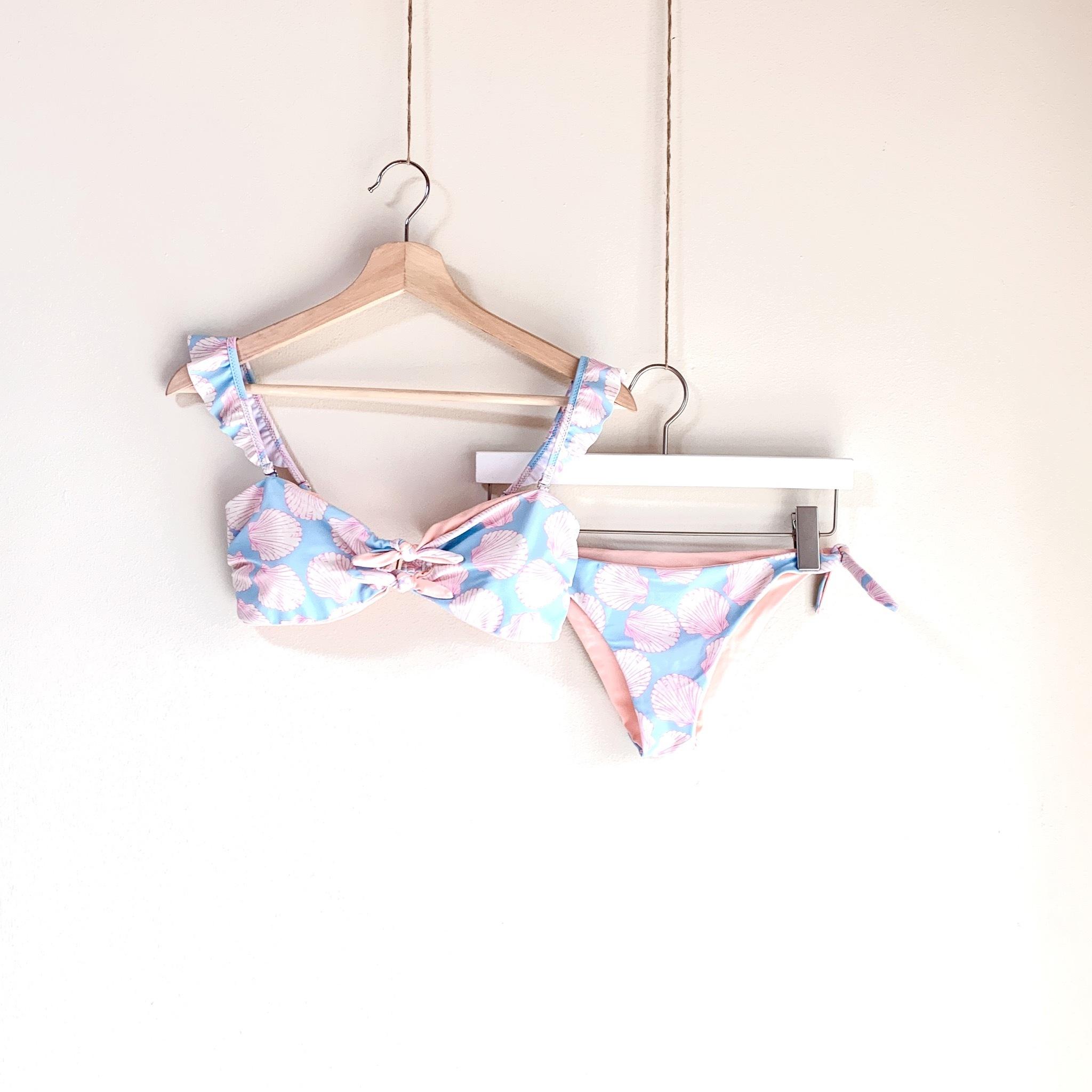 Wing Bikini Set Shell