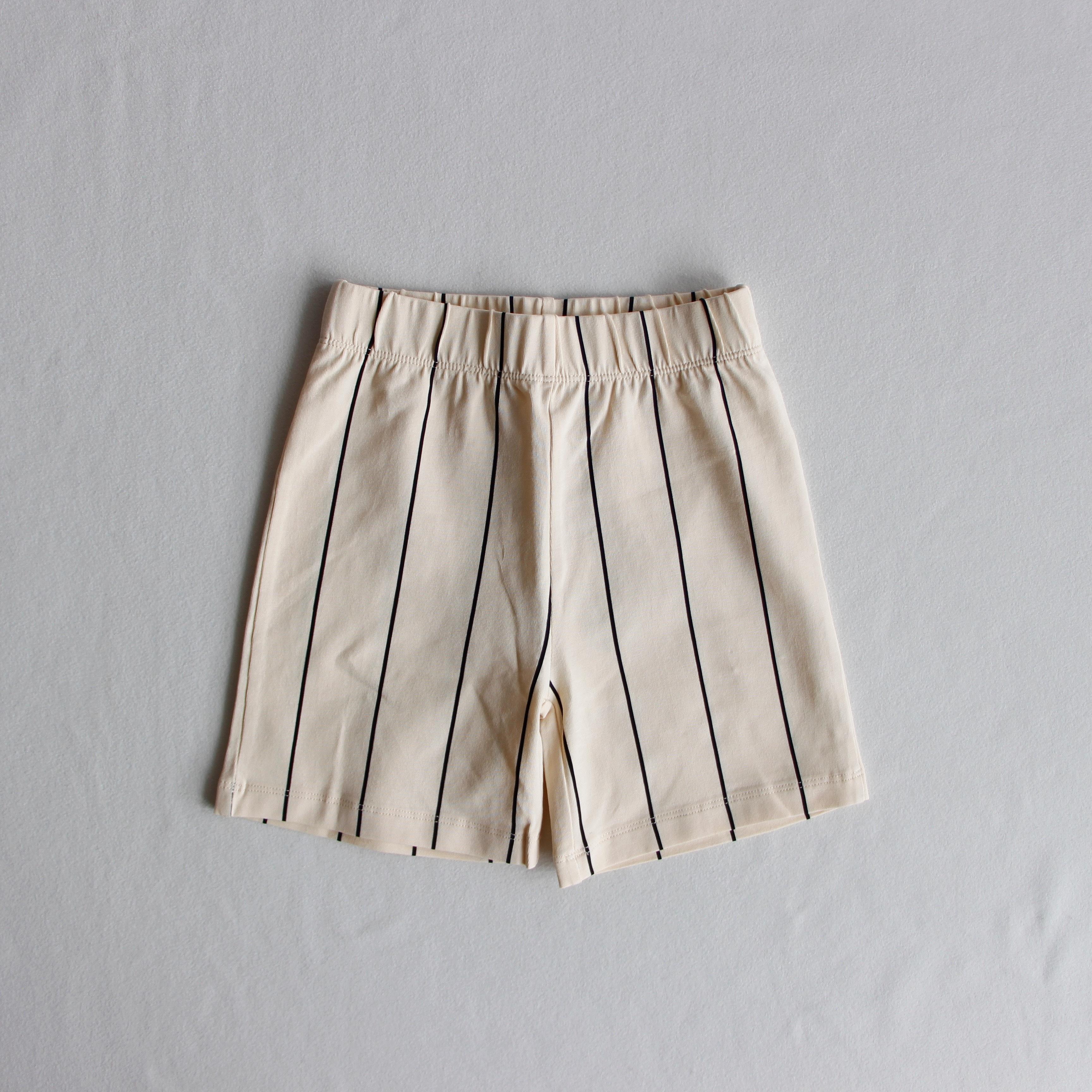《WAWA 2019SS》Shorts / black lines