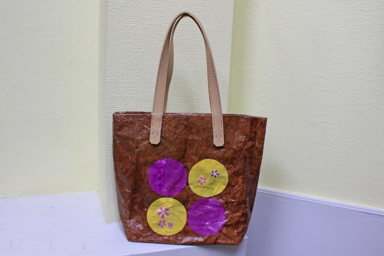 カジュアルトートバッグS ④<Casual Tote Bag size S④>