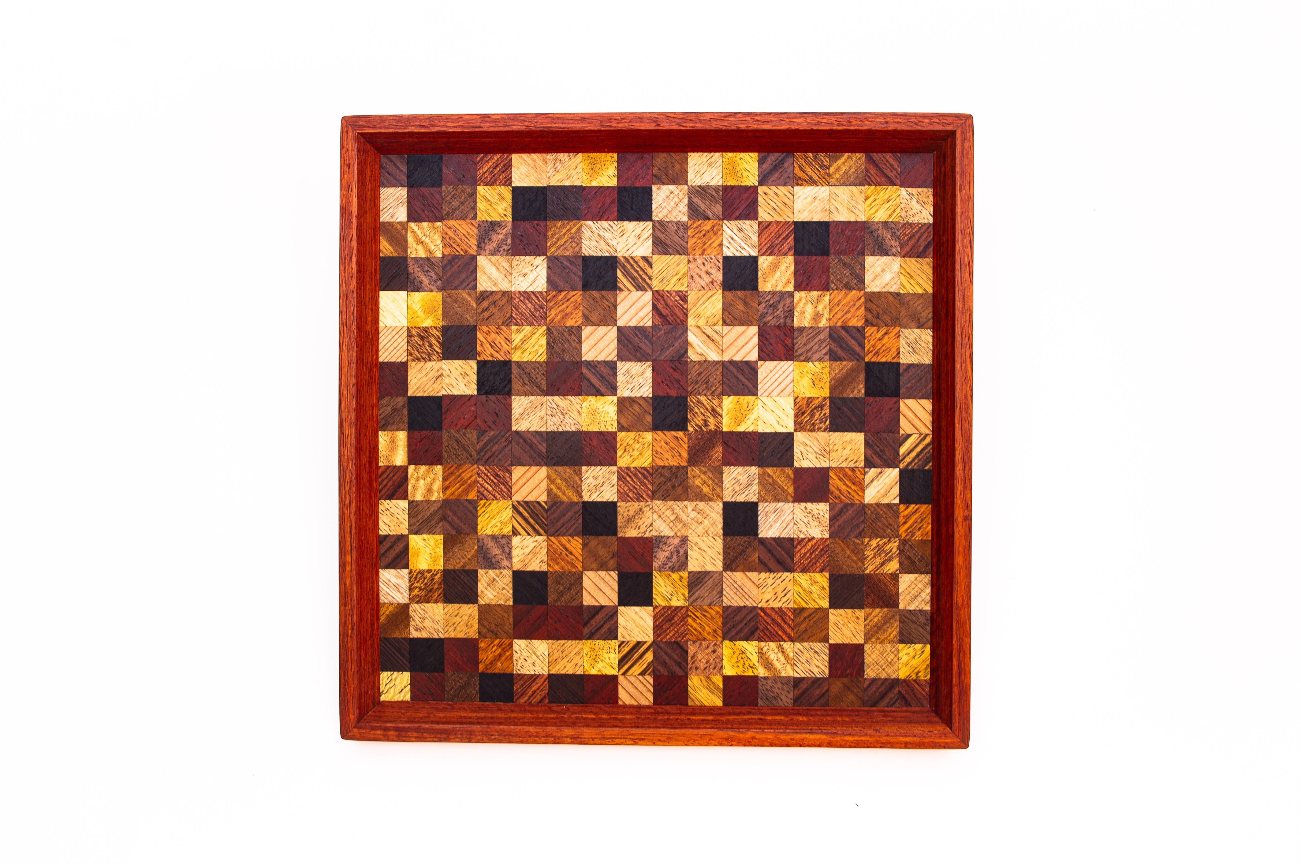 checkermix 正方形のトレー 0312