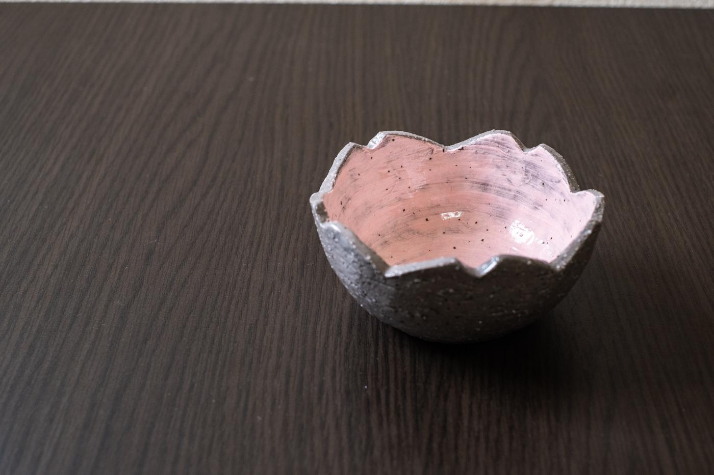 桜小鉢【内側塗り/外側塗り/縁塗り】