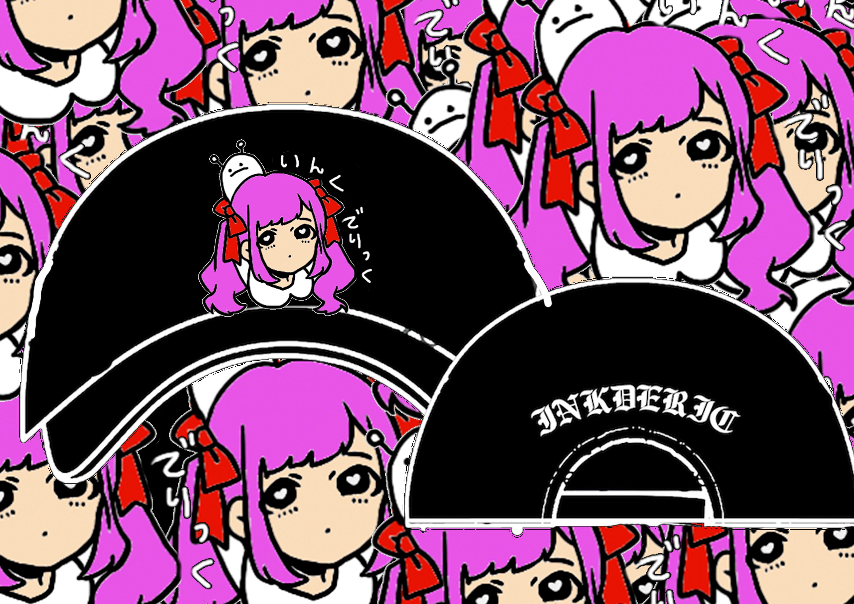 空亜×INKDERIC コラボキャップ