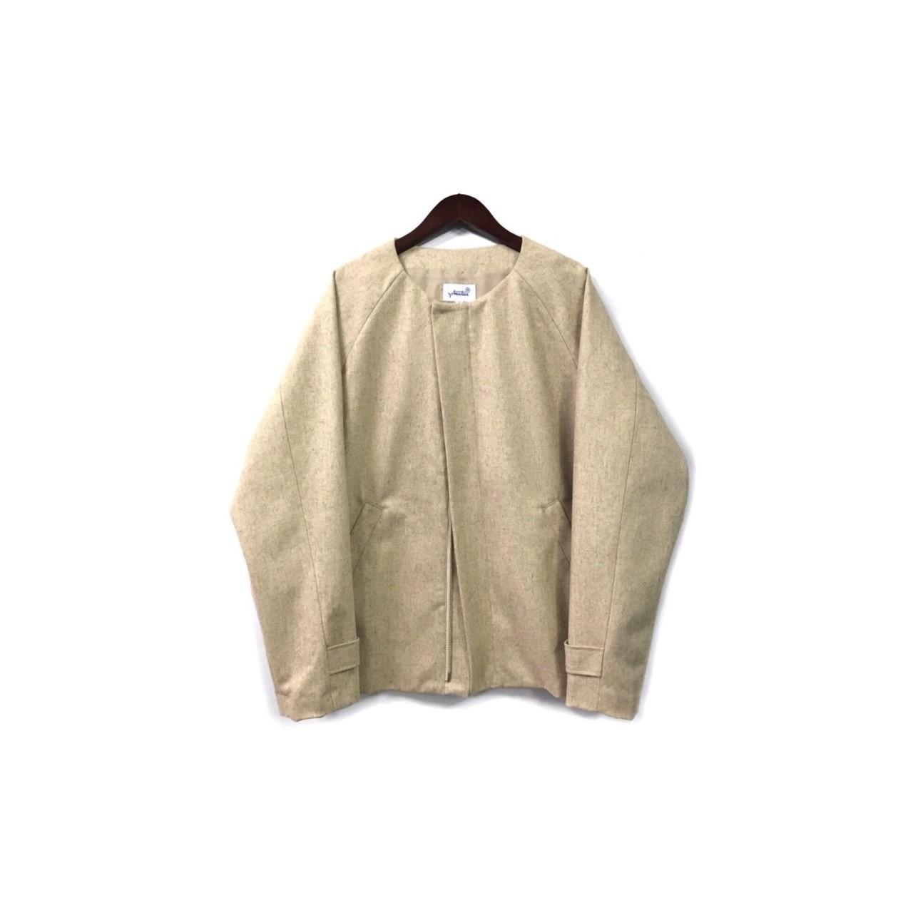 yotsuba - Nocollar Jacket / Beige ¥35000+tax