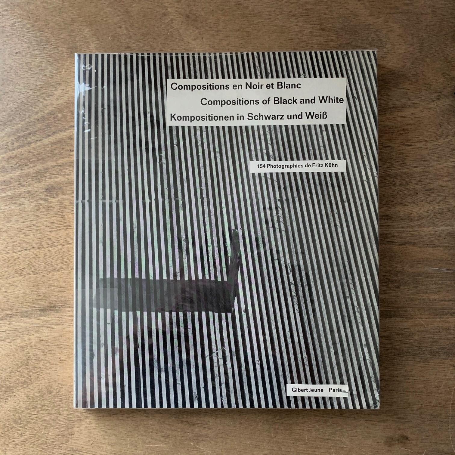 Compositions en Noir et lanc / Fritz Kuhn フリッツ・カーン