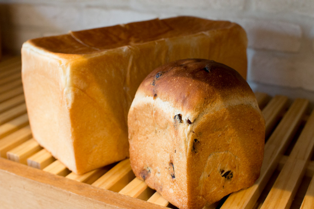 レピジャポネ食パン 1本+オーガニックレーズン食パン 1個セット