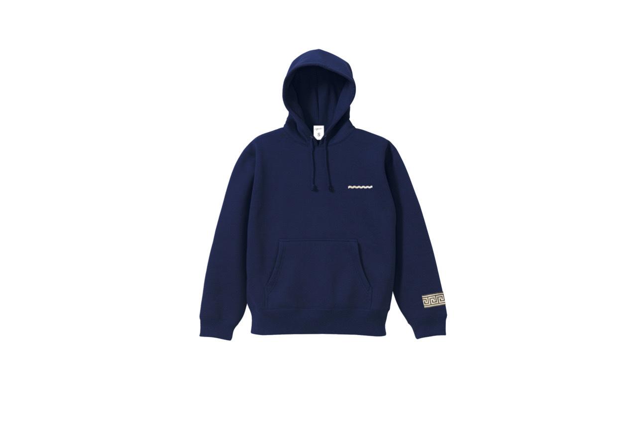 coguchi Clogo line hoodie (NVY)