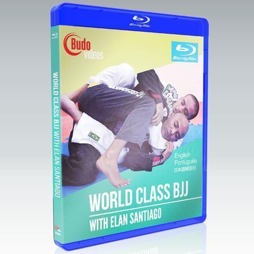 【Blue-ray】日本語吹き替え付き エラン・サンチアゴ World Class BJJ DVD3枚組