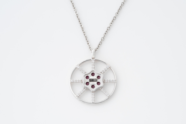 ヴァルヴネックレス(ジルコニア)valve-1-WGZ