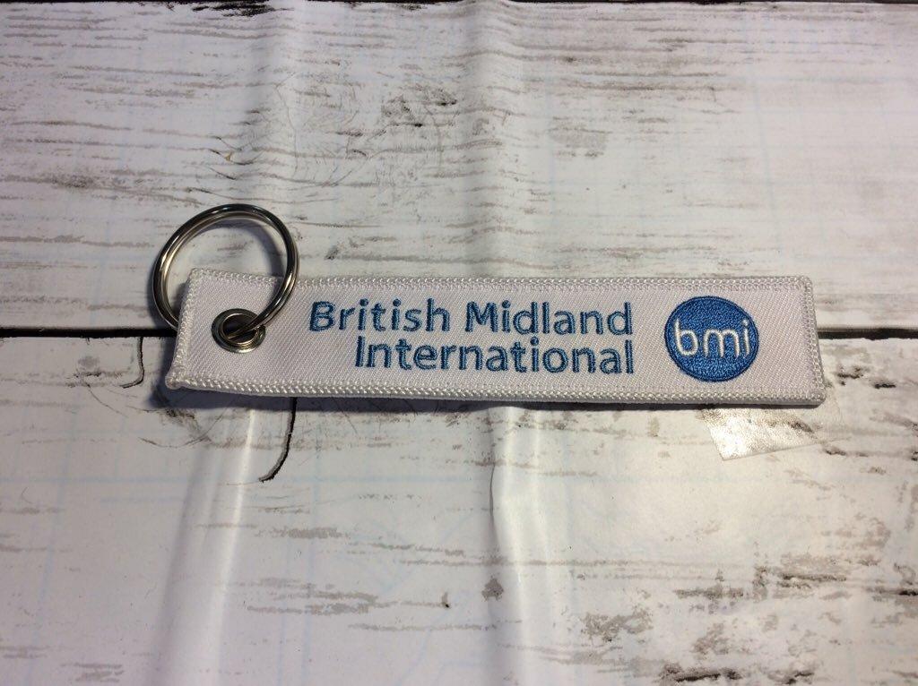 REMOVE BEFORE FLIGHTキーホルダー/British Midland International