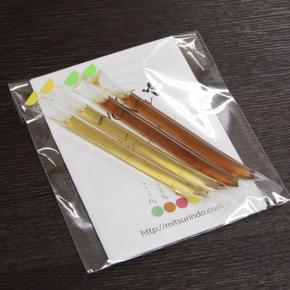 【送料無料&200円クーポン付き】ハリナシバチの蜂蜜 POT HONEY お試しスティック2種2本ずつ