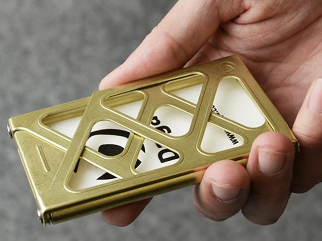 Brass Cardcase (SELF-BUILD) - 画像4