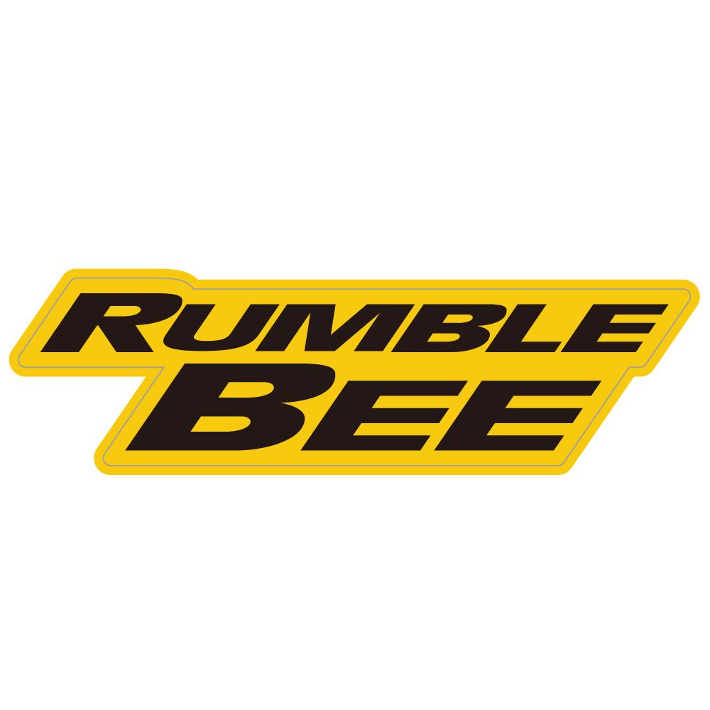 """157 ラムトラック最高峰RUNBLE BEE """"California Market Center"""" アメリカンステッカー スーツケース シール"""
