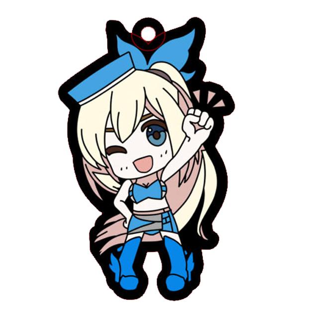 【数量限定】パシフィックレーシングチーム×ミライアカリ/ラバーストラップD