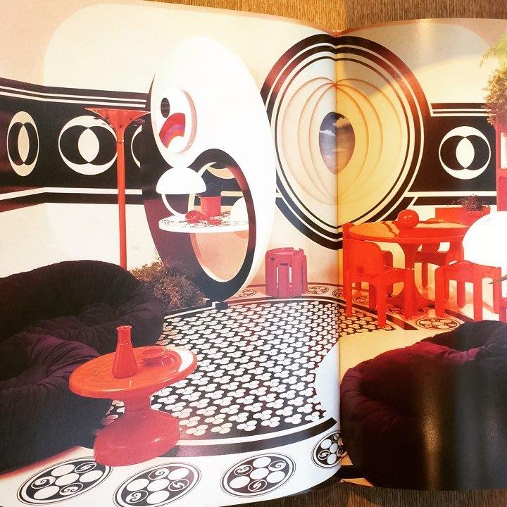 インテリアデザインの本「Op to Pop: Furniture of the 1960's」 - 画像2