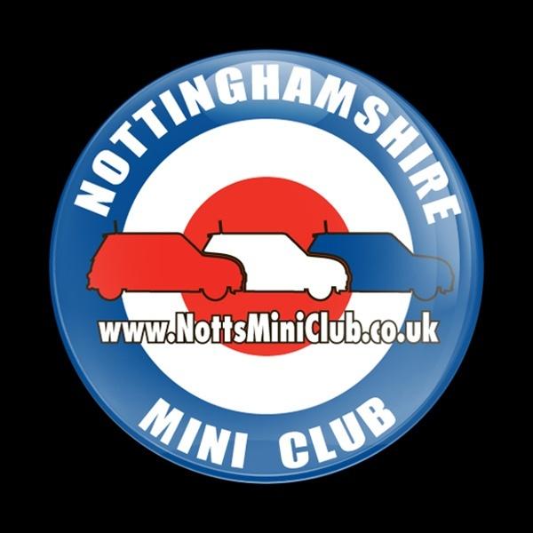 ゴーバッジ(ドーム)(CD0100 - CLUB Nottinghamshire) - 画像1
