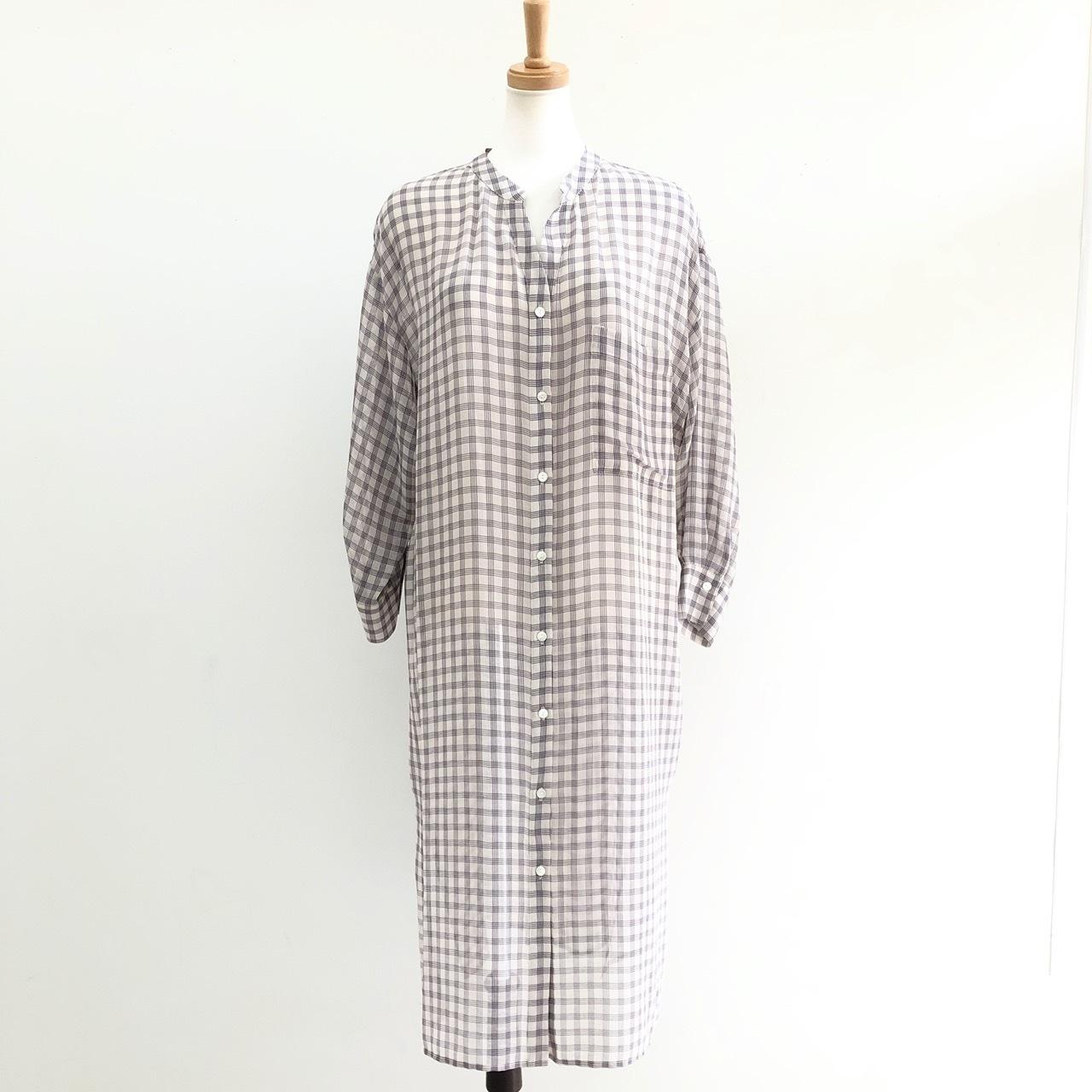 【 Chignonstar 】- 5201-060 - シャーリングシャツ OP/CK
