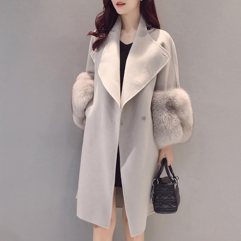 【outer】気質アップ人気シンプル冬新作ファッションコート15174156