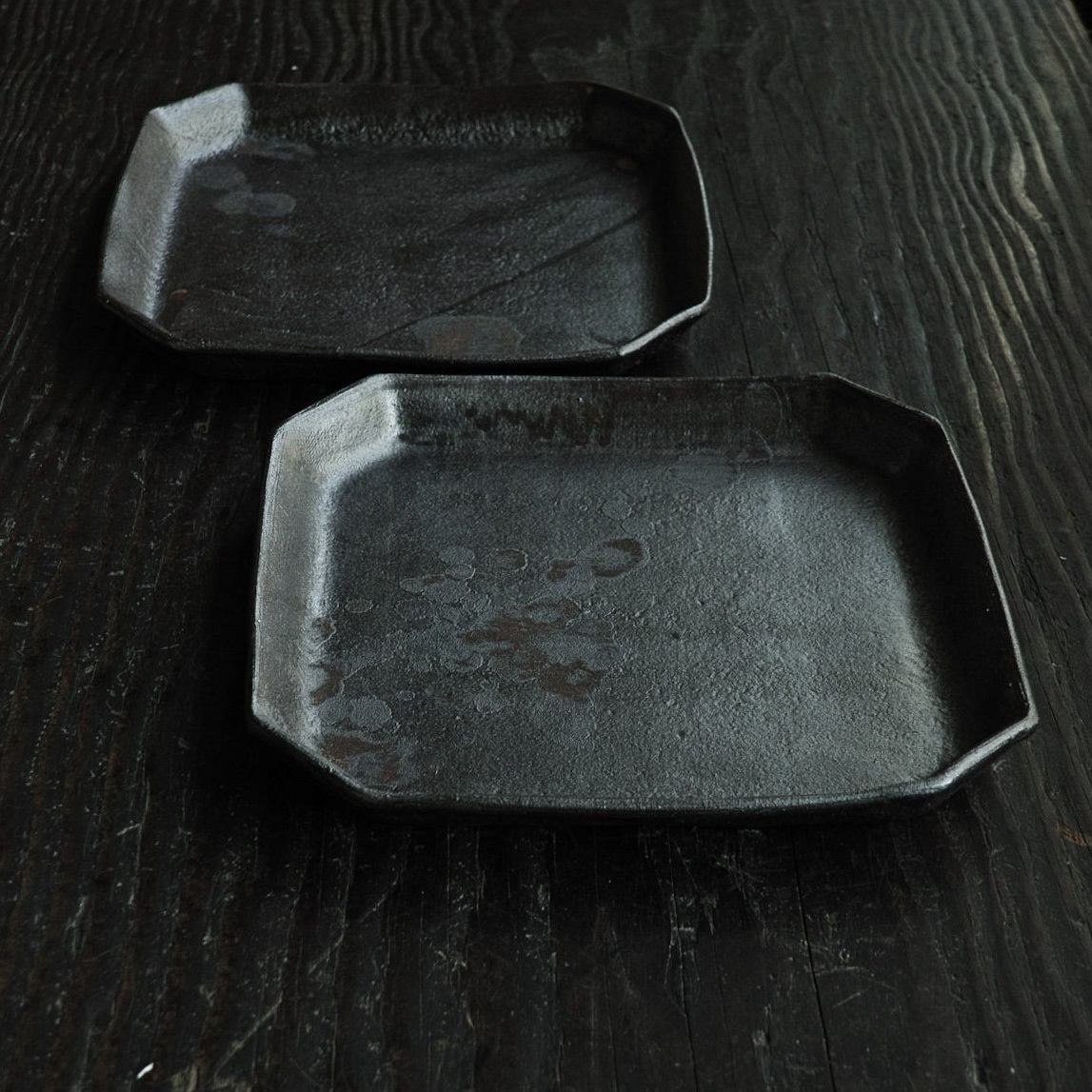 隅切角皿 hirasawa harumi