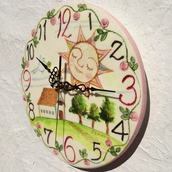 お家と太陽(10cm)