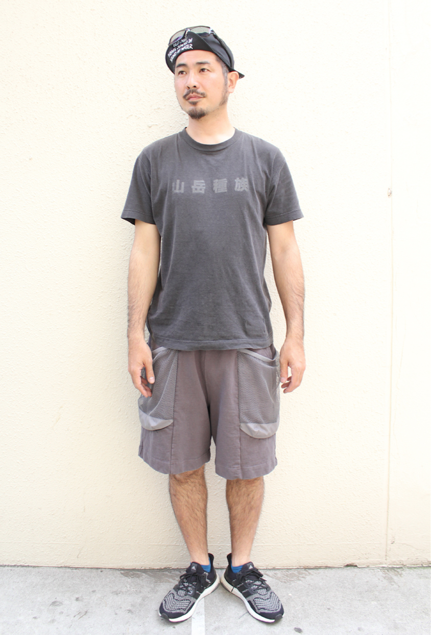 TROVEx岡部文彦 / BIG POCKET SHORTS Ver:6 ( TYPE RELAX ) / CHARCOAL