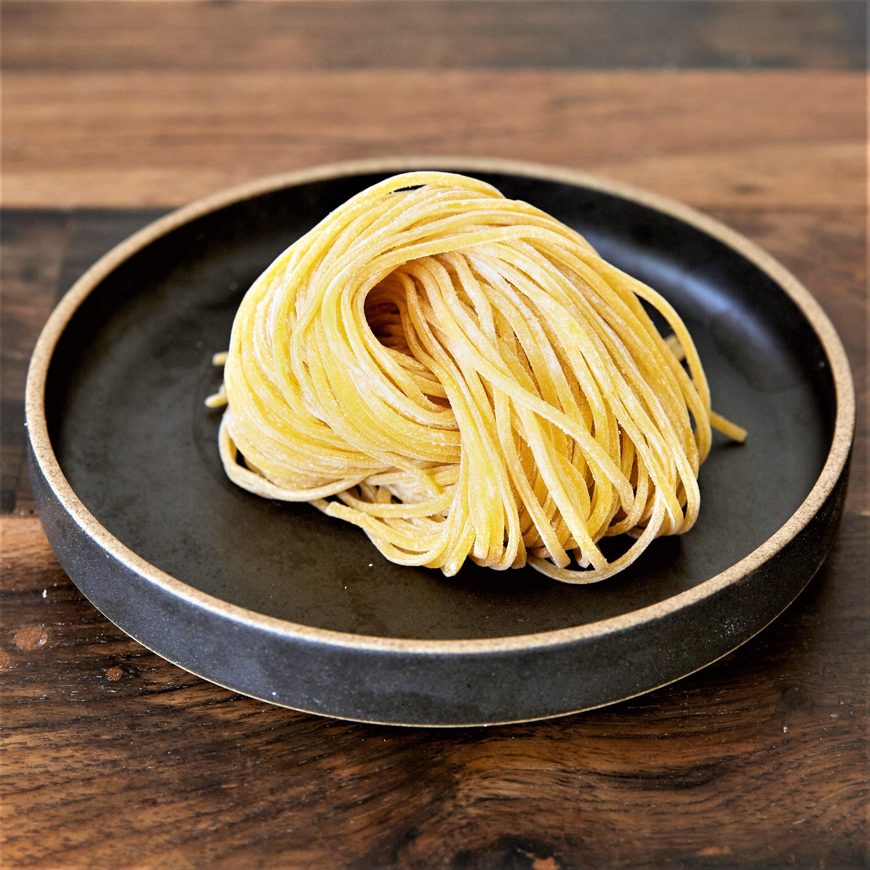 【冨士麵ず工房】ミナミノカオリの新麦香る生パスタ・2種食べくらべセット