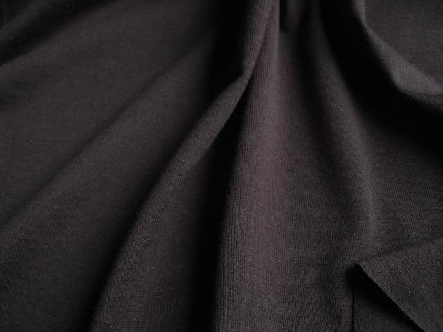 スーピマ綿60双糸天竺ニット ブラック NTM-2266