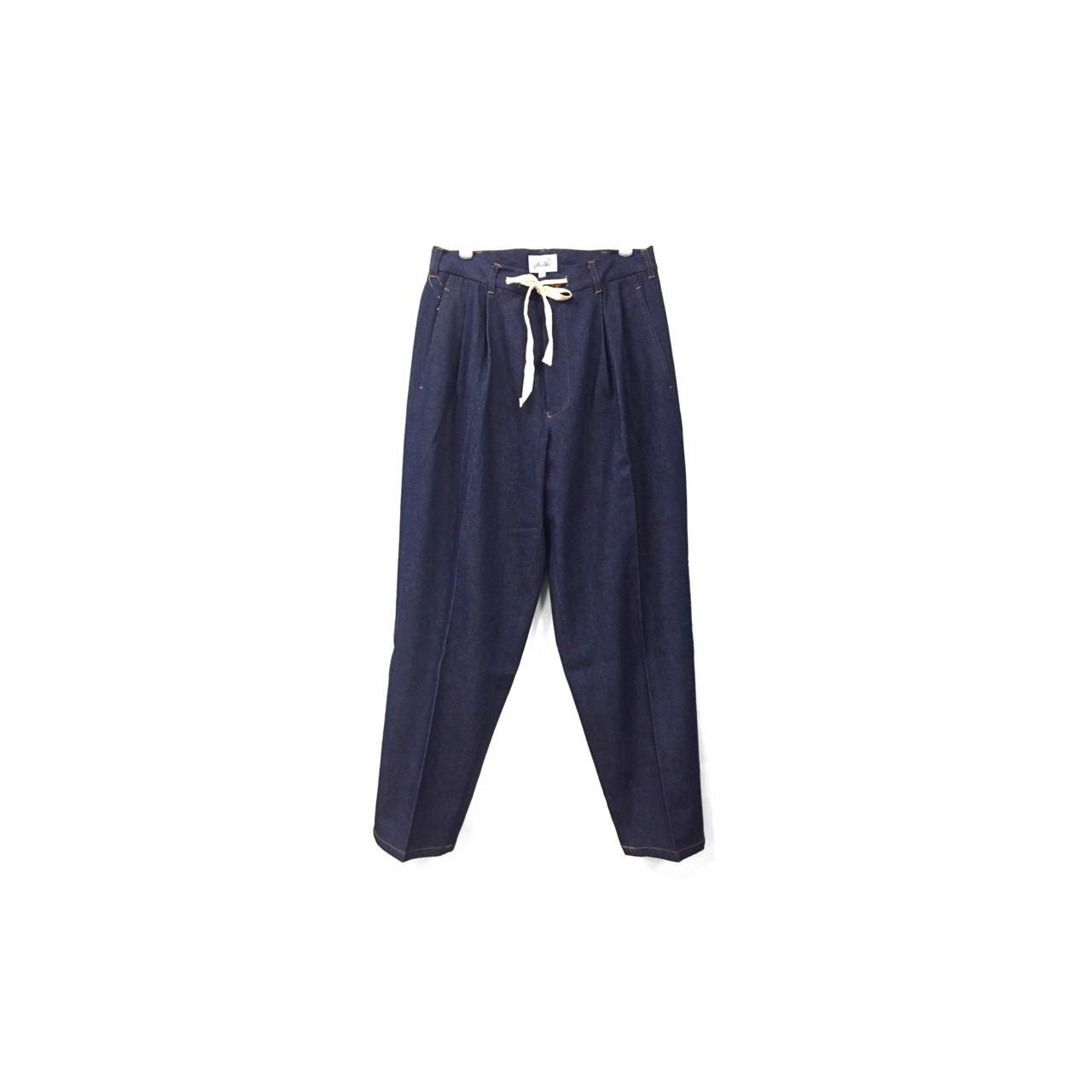 yotsuba - Denim Wide Pants / Indigo ¥23000+tax