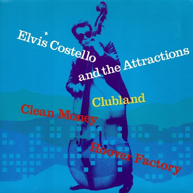 【7inch・英盤】Elvis Costello & The Attractions  /  Clubland