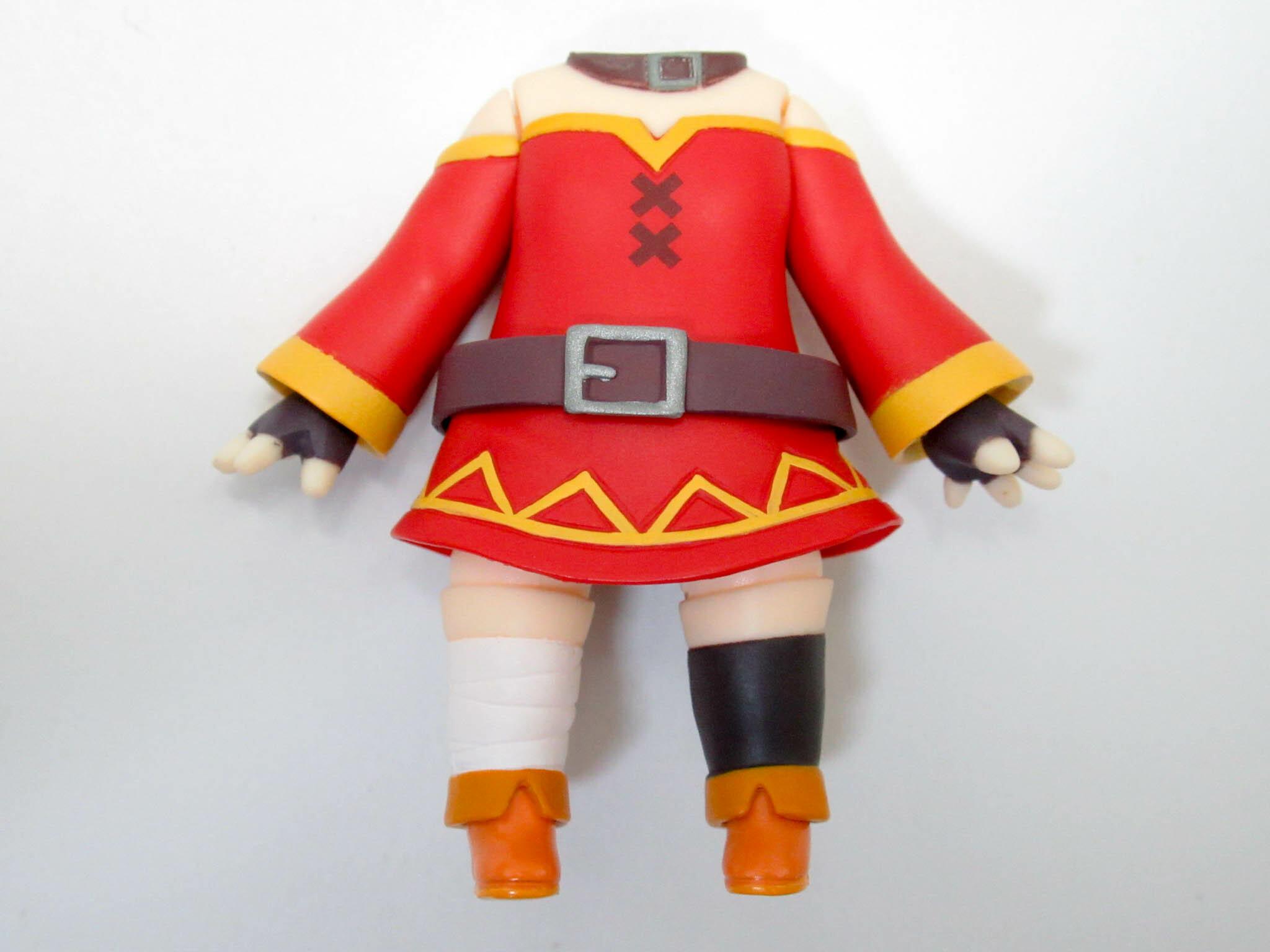 【SALE】【725】 めぐみん 体パーツ 戦闘服 ねんどろいど