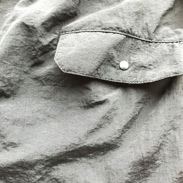 P.O.Pボックスロゴナイロンショーツ(黒) - 画像4