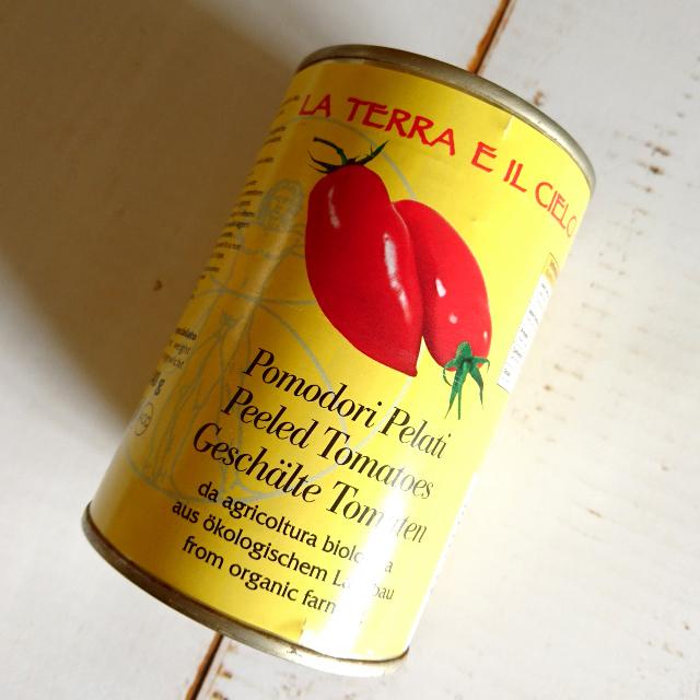 有機ホールトマト サンマルツァーノ種 400g