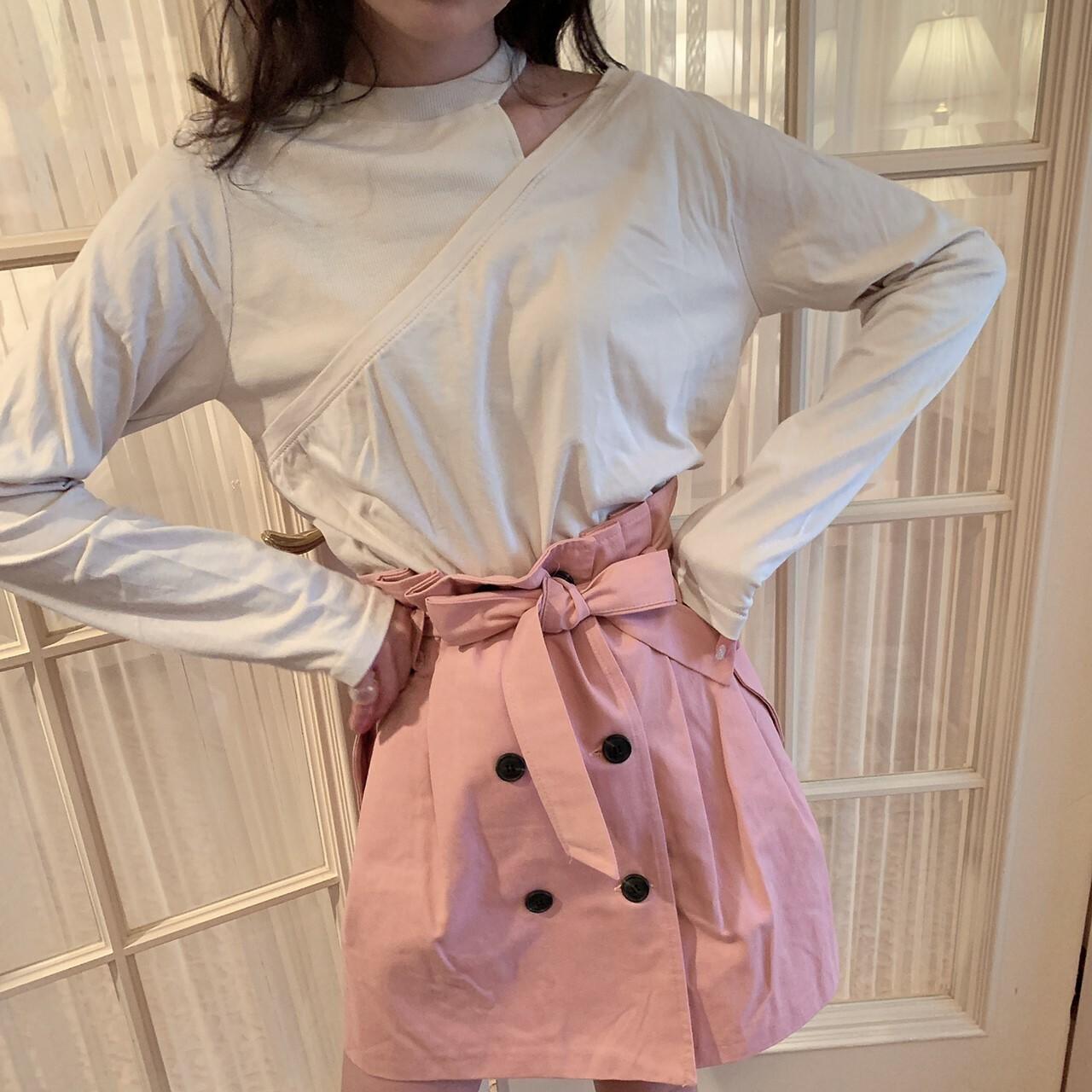 trench skirt
