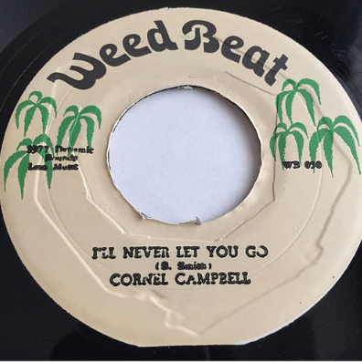 Cornell Campbell (コーネルキャンベル) - I'll Never Let You Go【7'】