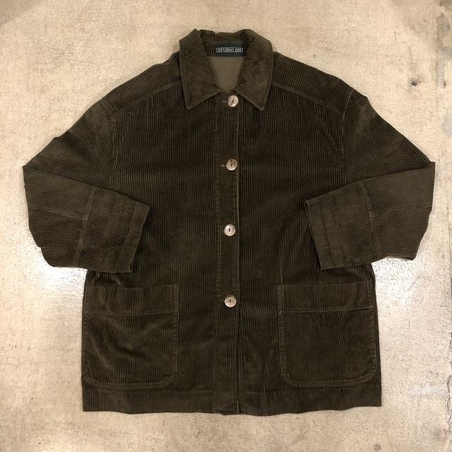 Khaki Corduroy Jacket #TP-533